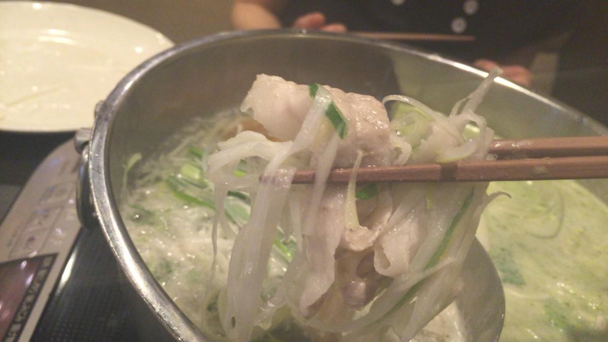 【北本市】しゃぶしゃぶ食べ放題 「しゃぶ葉」に行ってみた