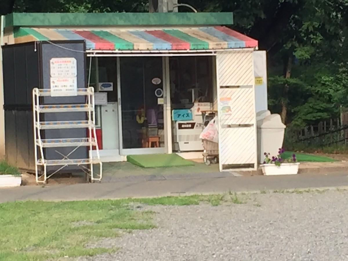 【北本市】子供公園は売店