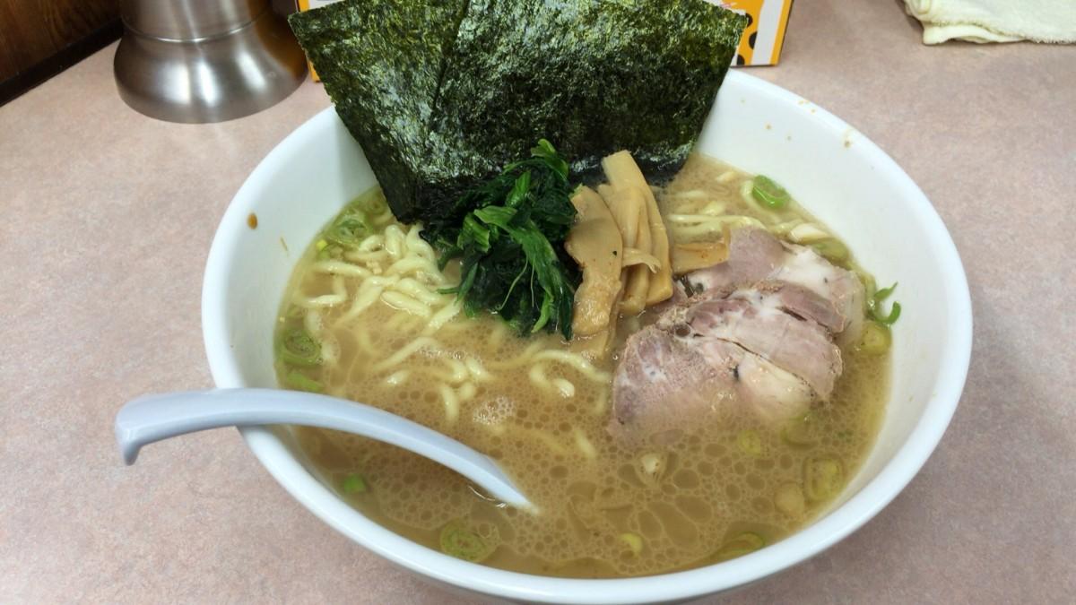 【上尾市】横浜ラーメン「あばん」麺がモチモチでした