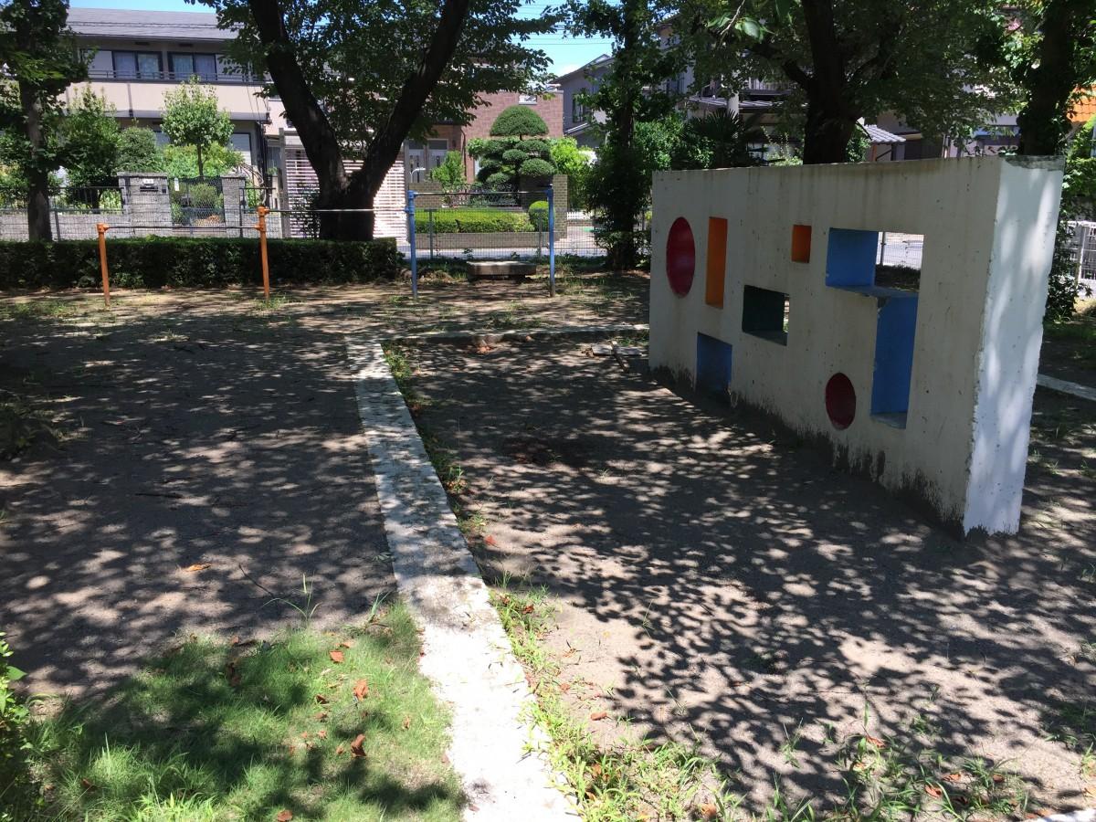 【上尾市】災害の一時避難場所「錦町西公園」 ちょっとした休憩にも使えます