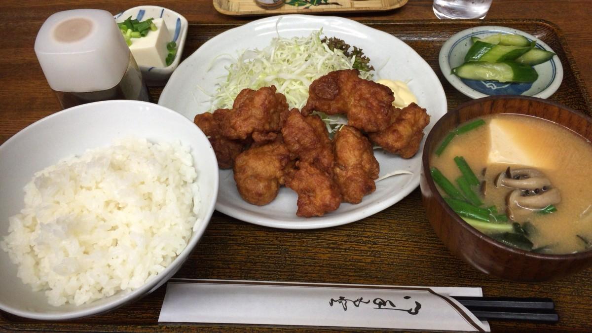 ちゃんぷる美崎沖縄風味処 唐揚げ定食