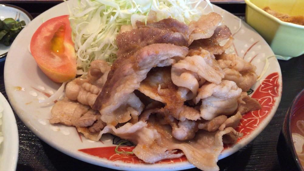 和の花 豚生姜焼き