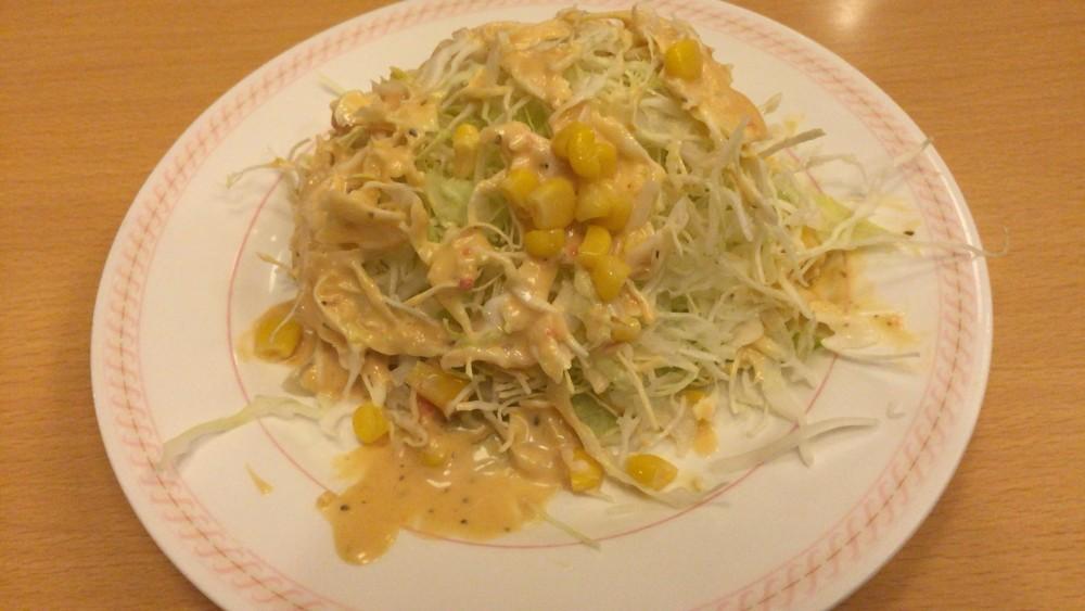 レタスとキャベツのサウザンドレッシングサラダ joyfullメニュー