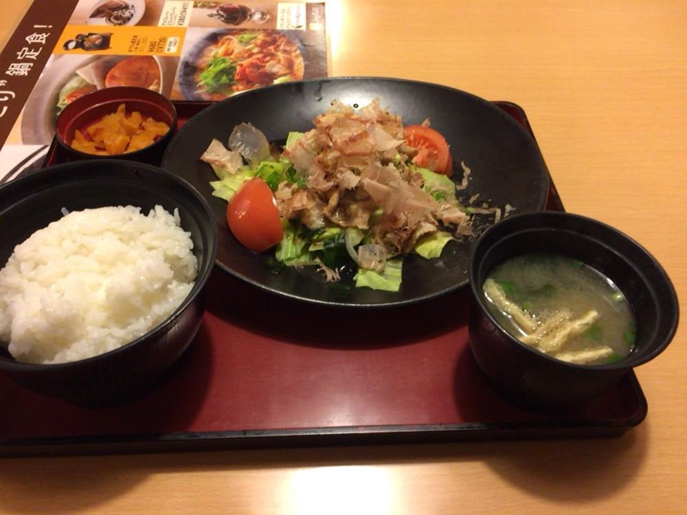 ジョイフル(joyfull)のメニュー 豚肉とキャベツのポン酢かけ定食