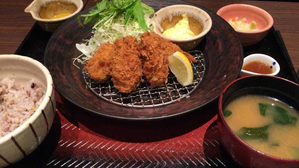大戸屋 カキフライ定食