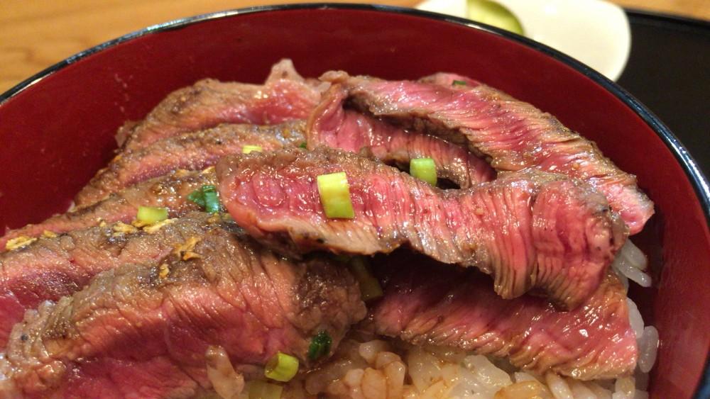【上尾市】上尾ごはん 赤城牛のステーキ丼は絶品!!店主の人柄も最高です
