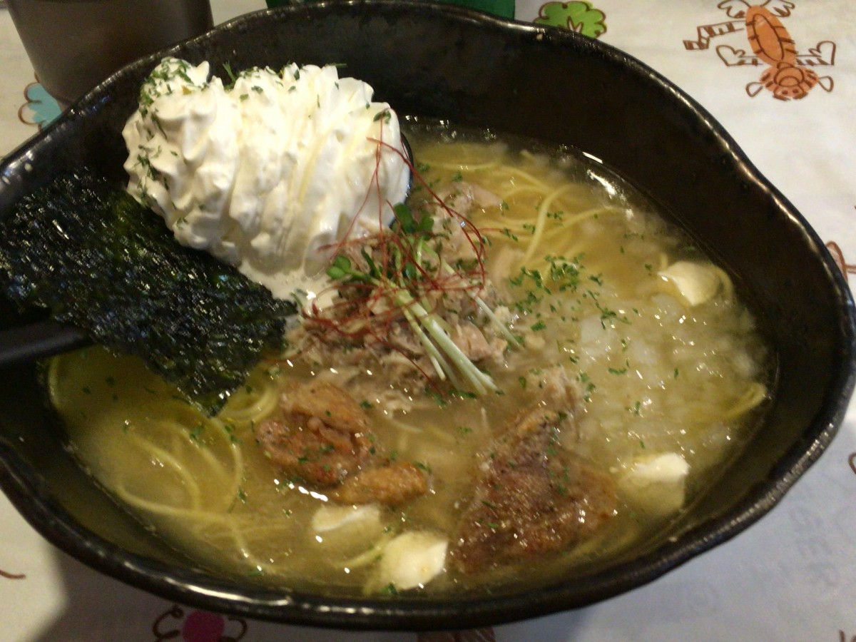 【上尾市】 クリーミーな塩ラーメンが食べられる「麺屋 GAKU」に行ってきた