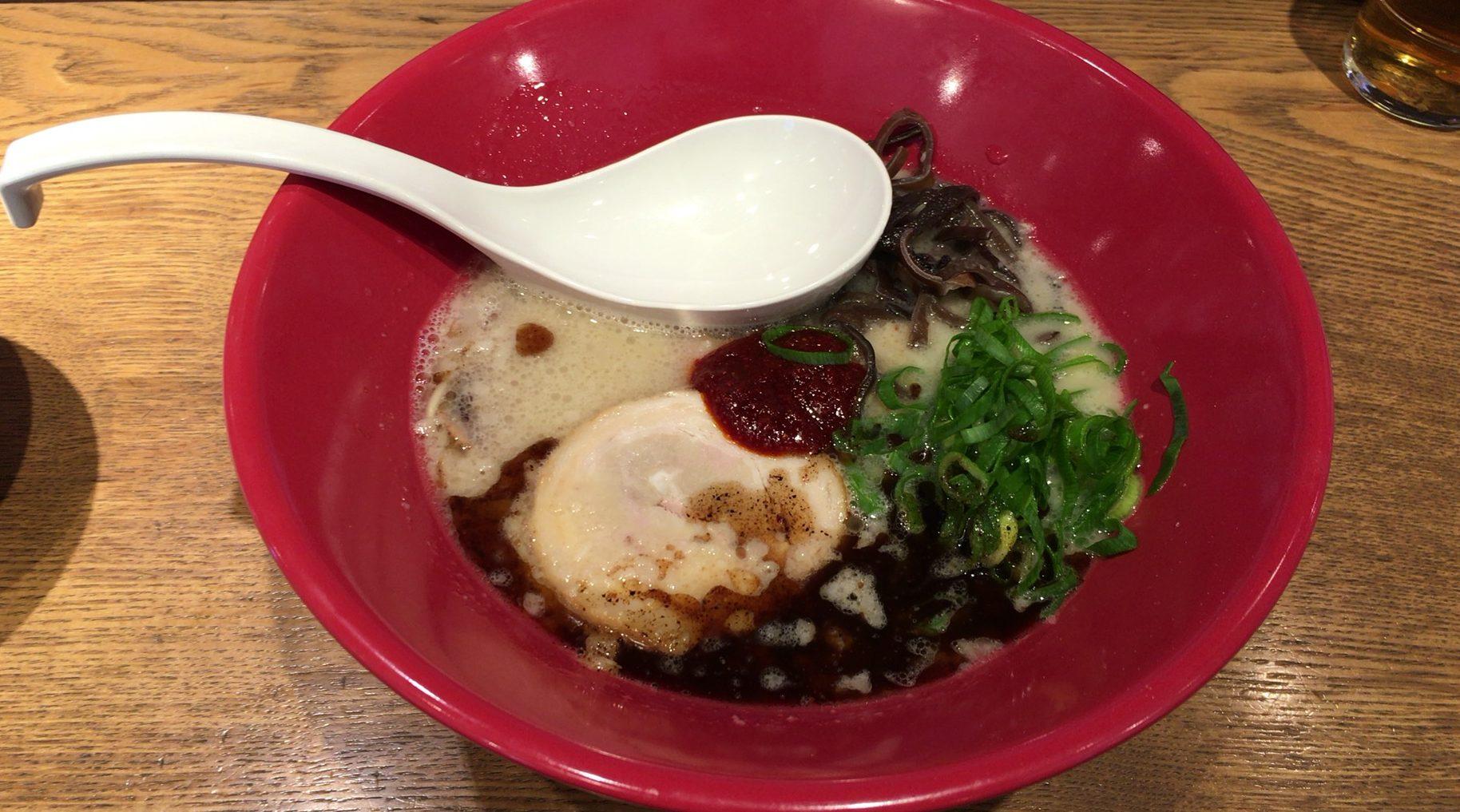 さいたま市中央区 博多一風堂 赤丸を食べてきた