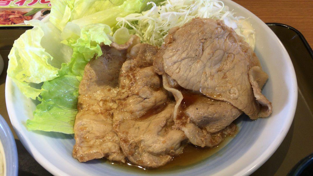【さいたま市緑区】「山田うどん食堂」で生姜焼き定食を食べてきた