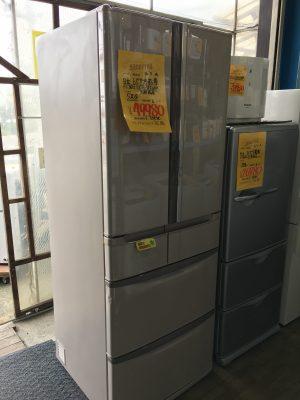 埼玉県 中古 両開き(フレンチ)6ドア冷蔵庫