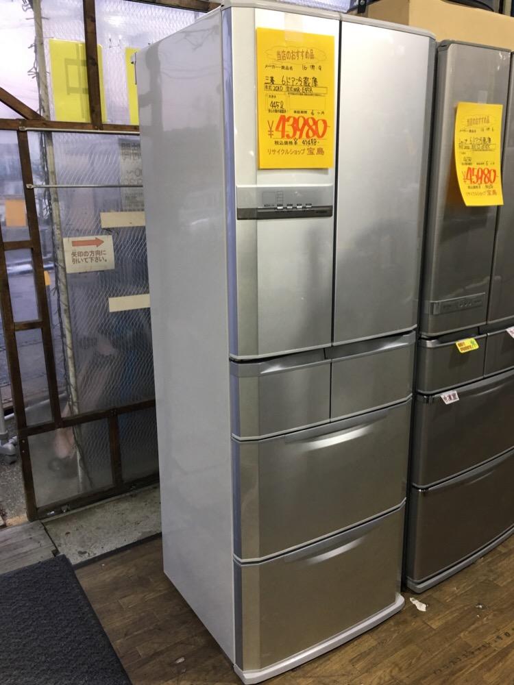 埼玉県リサイクルショップ 6ドア冷蔵庫