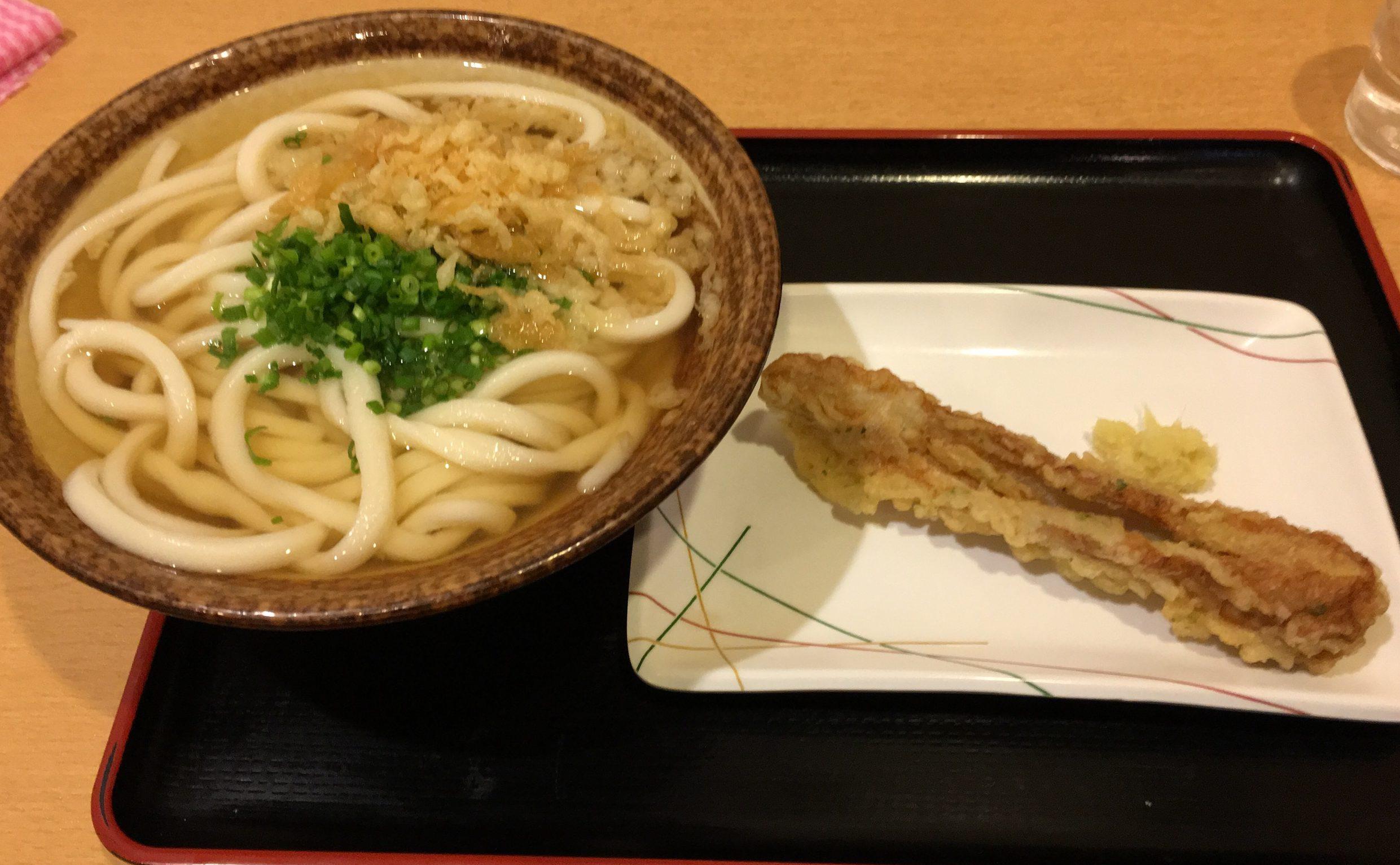 【ふじみ野市】埼玉県のうどんランキング1位のお店「條辺」のかけうどんを食べてきた