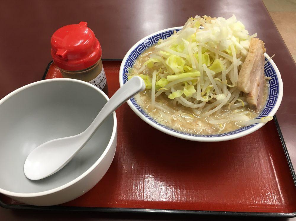 【上尾市】二郎系??「優勝軒」で富士ラーメンを食べてきた!
