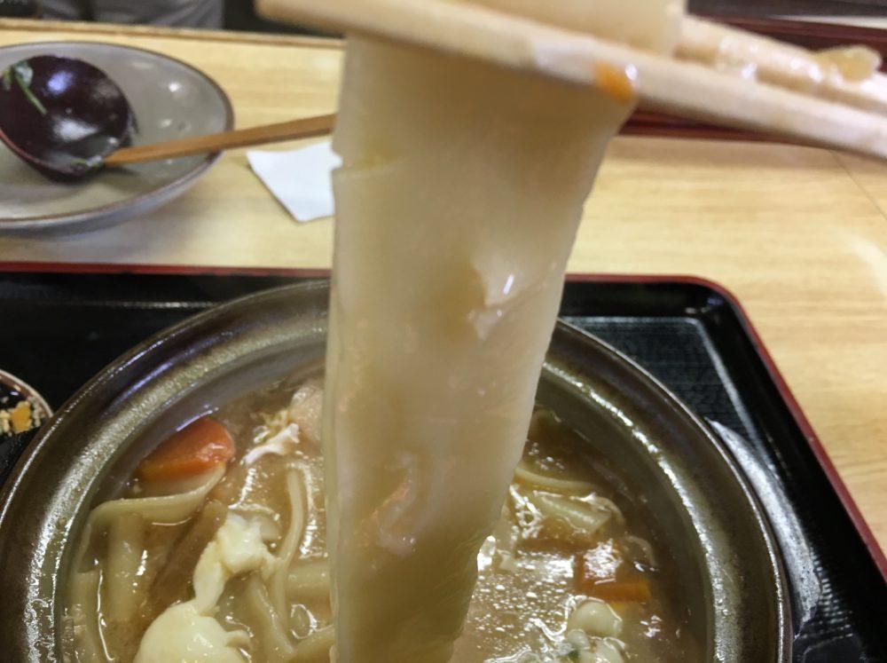 【東松山市】「手打ちうどん ふなと」ひも川うどん??を食べてきた!