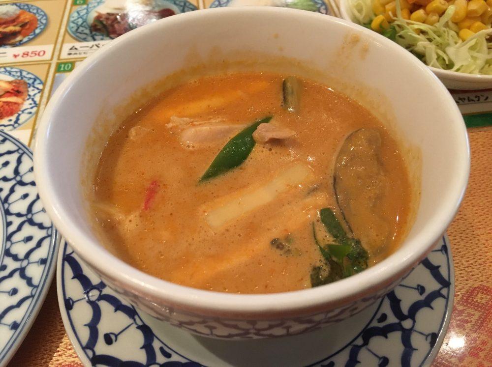 【上尾市】おすすめのタイ料理店 「クンメー」でグリーンカレーを食べてきた メニュー
