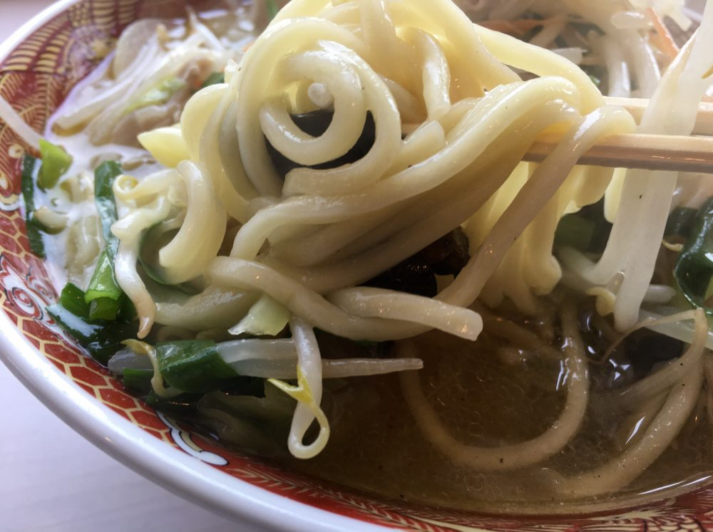 【比企郡川島町】あぢとみ食堂のタンメンは野菜がたっぷりとれて、おすすめ!