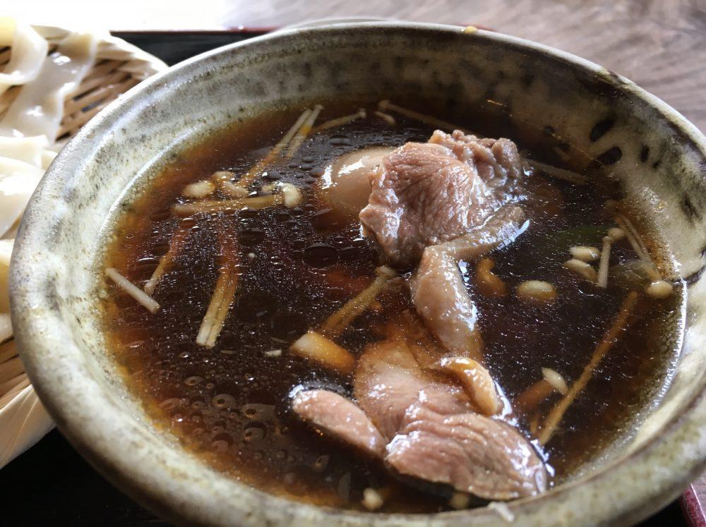 【鴻巣市】おすすめグルメ「手打ちそば 馬力屋」川幅うどん(鴨汁)を食べてきた