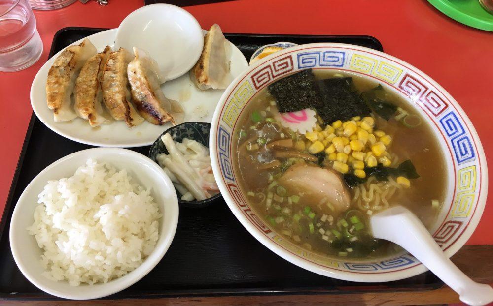 【東松山市】中華料理店「華門」のラーメンセットは700円でコスパが高い!