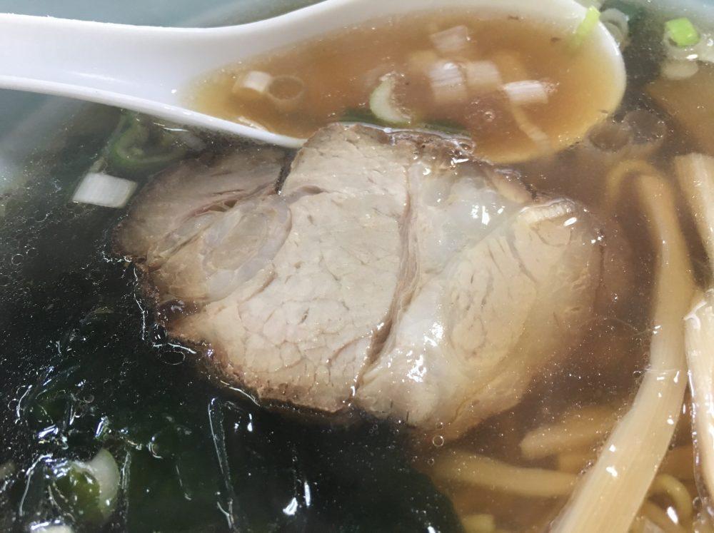 中華料理店「くるまてい」ラーメン
