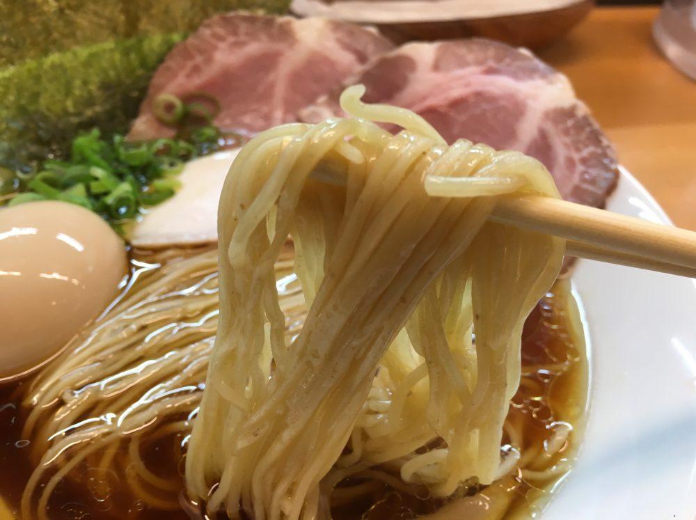 【上尾市】『麺処ろくめい』の中華そばを食べてきた!全粒粉細麺を使用