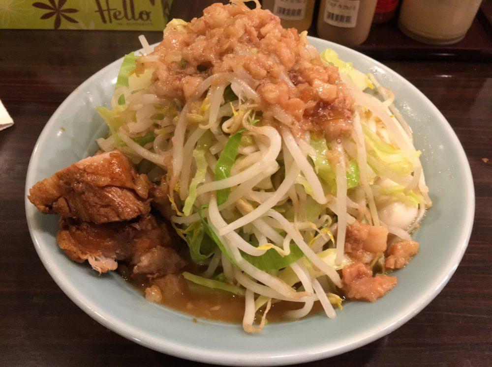 川越市クレアモール内『立川マシマシ 8号店』にいってきた!二郎系ラーメン