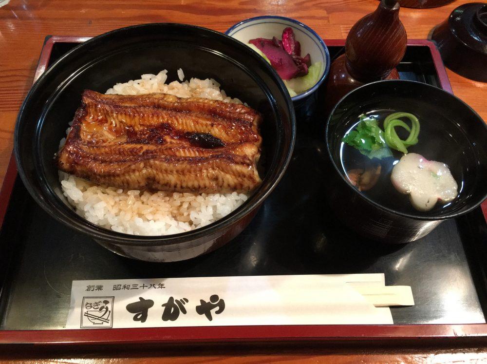 【蕨東口駅前】うなぎ・定食「すがや」のうな丼は安くておいしいよ!