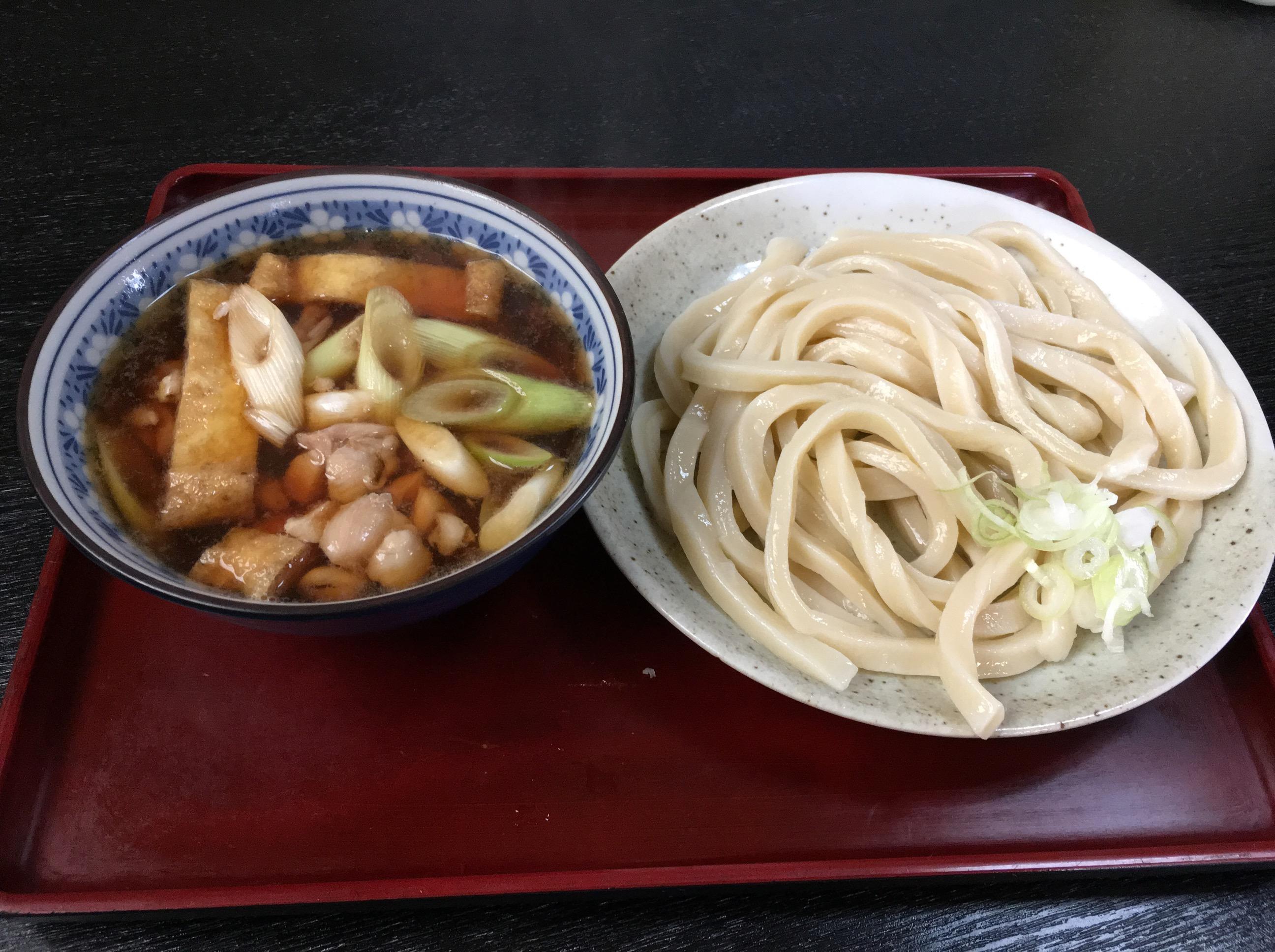【比企郡小川町】太いうどんにビックリ!「あそび」で鶏汁うどん食べてきた