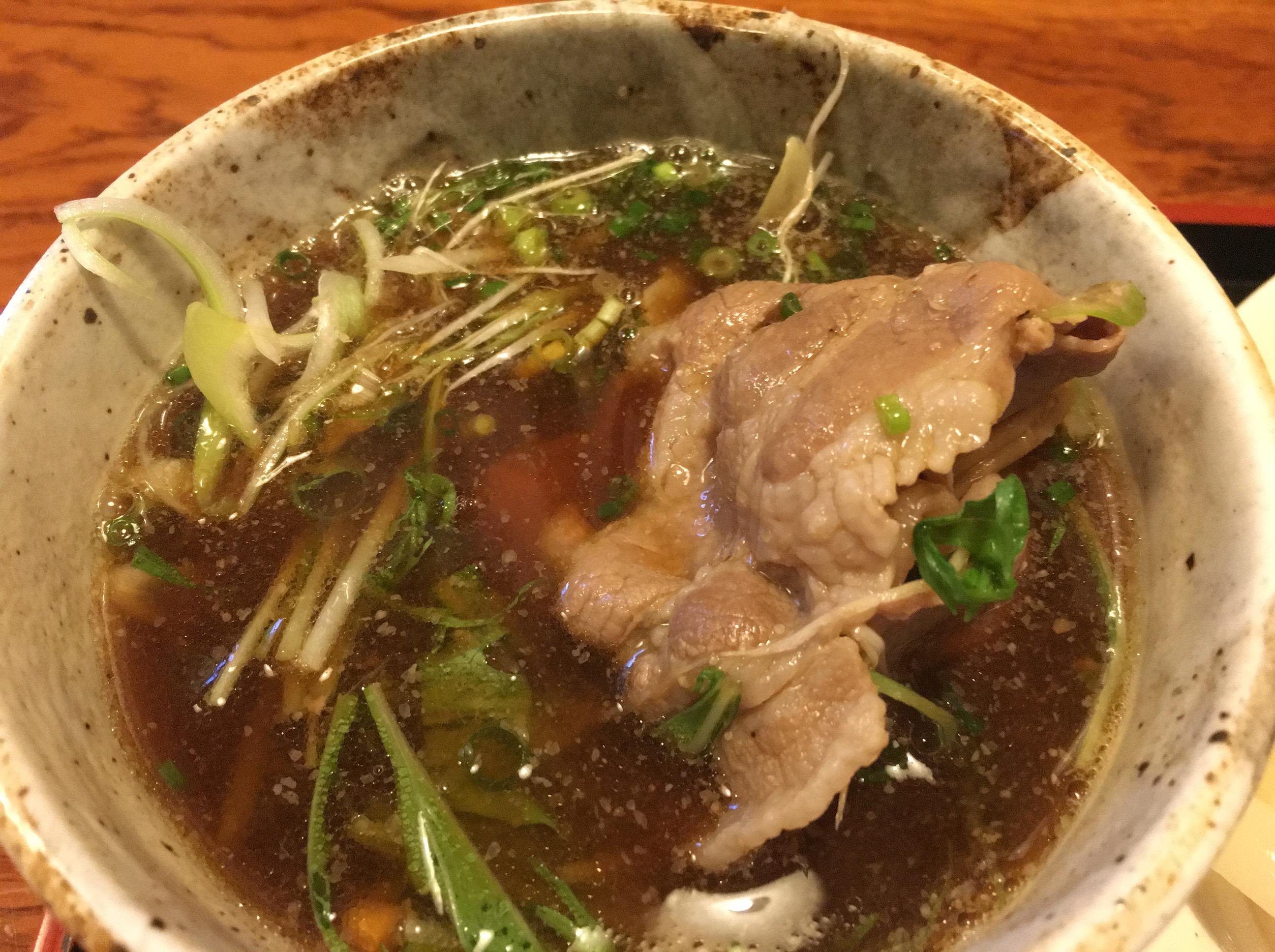 【桶川市】「手打ちうどん いしづか 」牛肉が大量に入っている、つけ汁うどん最強に美味しくておすすめ